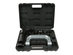 Šarniiri/pukside pressi komplekt Tööriistad