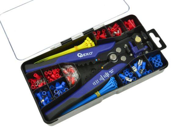 Elektriku tarvikute komplekt 260-osaline Elektriku tööriistad