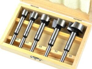5-osaline puidufreeside komplekt 15-35 mm Puurid ja tarvikud