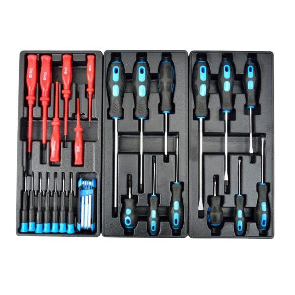 Tööriistakapp 7 sahtliga 272 osa Tööriistad