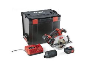 Akuketassaag puidule FLEX CS 62 18.0-EC/5.0 Set Akulõiketööriistad