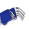Kuuskant võtmete komplekt 9 osaline 1.5-10mm Tööriistad