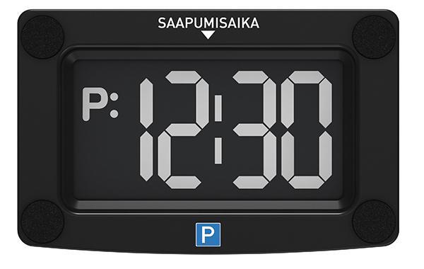 Elektrooniline parkimiskell- juhtmevaba Autotarbed