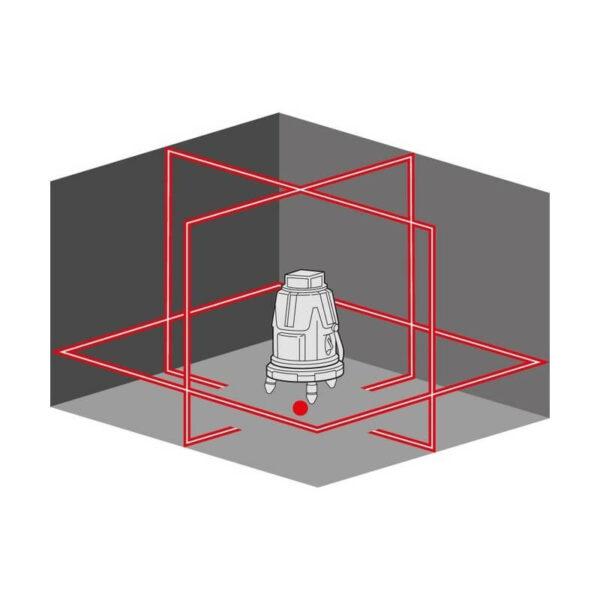 Ristjoonlaser FLEX ALC 8 Laserid