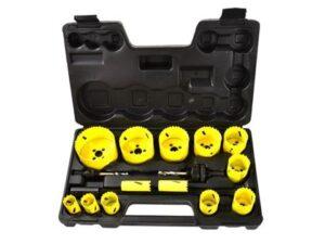Bi-metall augufreeside komplekt 17-osaline Tööriistad