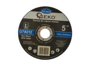Lõikeketas Geko Premium 125×1.2 Ehitustööriistad