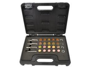 Metallipuuride komplekt 1-13mm 25-osaline Tööriistad