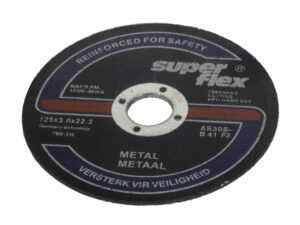 Lõikeketas metallile 125×3.0 Lõike- ja lamellkettad