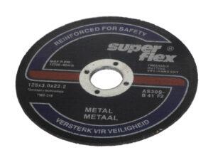 Lõikeketas metallile 125×3.0 100tk Lõike- ja lamellkettad