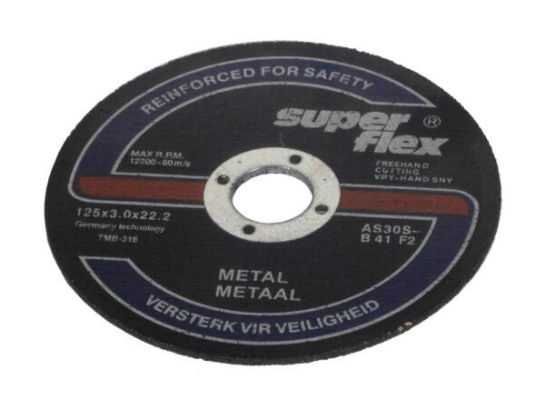 Lõikeketas metallile 125×3.0 25tk Lõike- ja lamellkettad