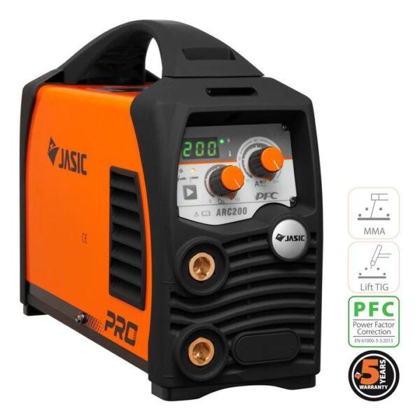 Inverterkeevitus MMA/TIG Jasic Arc 200 Pro Elektrood keevitusseadmed
