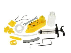 Jalgratta õlipidurite õhutuse komplekt Tööriistad