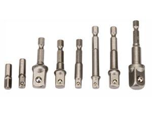 Padrunvõtmete adapterid 8-osa Võtmete komplektid