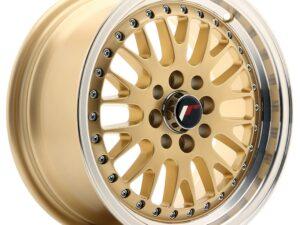 Valuvelg Japan Racing JR10 15×7 ET30 4×100/108 Gold JR10