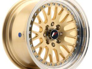 Valuvelg Japan Racing JR10 15×8 ET20 4×100/108 Gold JR10