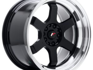 Valuvelg Japan Racing JR12 18×10 ET0 5×114/120 Gloss Black Machined Lip JR12