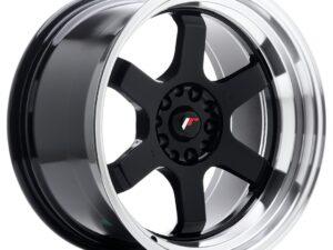 Valuvelg Japan Racing JR12 18×10 ET20 5×114/120 Gloss Black Machined Lip JR12