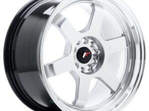 Valuvelg Japan Racing JR12 18×9 ET25 5×114/120 Hyper Silver Machined Lip JR12