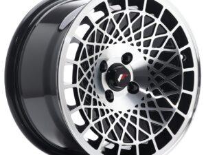 Valuvelg Japan Racing JR14 15×8 ET20 4×100 Gloss Black Machined Face JR14