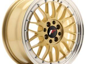 Valuvelg Japan Racing JR23 16×7 ET40 4×100/114,3 Gold Machined Lip JR23