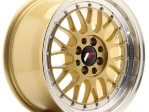 Valuvelg Japan Racing JR23 16×8 ET20 4×100/108 Gold Machined Lip JR23