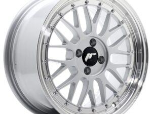 Valuvelg Japan Racing JR23 17×8 ET35 4×100 Hyper Silver Machined Lip JR23