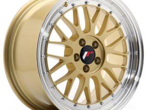 Valuvelg Japan Racing JR23 17×8 ET35 5×100 Gold Machined Lip JR23