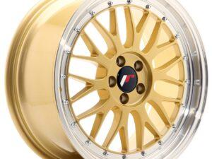 Valuvelg Japan Racing JR23 18×8,5 ET45 5×112 Gold Machined Lip JR23