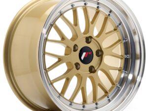 Valuvelg Japan Racing JR23 18×9,5 ET35 5×120 Gold Machined Lip JR23