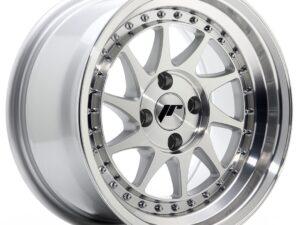 Valuvelg Japan Racing JR26 15×8 ET15 4×100 Silver Machined Face JR26
