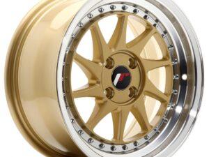 Valuvelg Japan Racing JR26 16×8 ET30 4×100 Gold Machined Lip JR26