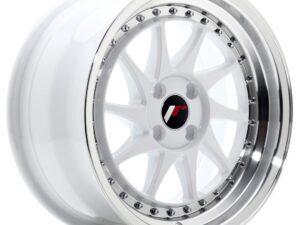 Valuvelg Japan Racing JR26 16×8 ET30 4×100 White Machined Lip JR26