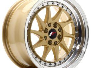 Valuvelg Japan Racing JR26 16×8 ET25 4×100/108 Gold Machined Lip JR26