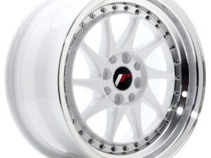 Valuvelg Japan Racing JR26 16×8 ET25 4×100/108 White Machined Lip JR26