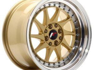 Valuvelg Japan Racing JR26 16×9 ET20 4×100/108 Gold Machined Lip JR26