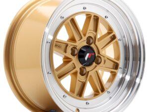 Valuvelg Japan Racing JR31 15×7.5 ET20 4×100 Gold Machined Lip JR31