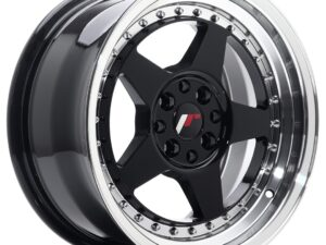 Valuvelg Japan Racing JR6 16×8 ET25 4×100/108 Gloss Black Machined JR6
