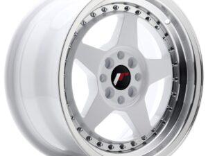 Valuvelg Japan Racing JR6 16×8 ET25 4×100/108 White Machined Lip JR6