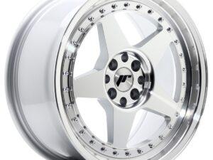 Valuvelg Japan Racing JR6 17×8 ET20 4×100/108 Silver Machined Face JR6