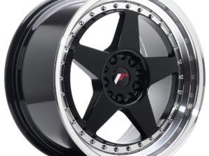 Valuvelg Japan Racing JR6 18×9,5 ET22 5×114,3/120 Gloss Black Machined JR6