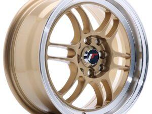 Valuvelg Japan Racing JR7 15×7 ET38 4×100/114 Gold Machined Lip JR7