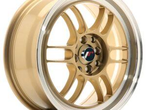 Valuvelg Japan Racing JR7 16×7 ET38 4×100/114 Gold Machined Lip JR7