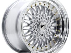 Valuvelg Japan Racing JR9 17×10 ET20 5×112/120 Silver Machined Lip JR9