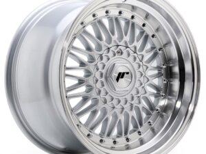 Valuvelg Japan Racing JR9 17×10 ET20 5×112/120 Silver Machined Lip+Silver Rivets JR9