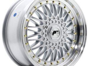 Valuvelg Japan Racing JR9 17×7,5 ET20 4×100/108 Silver Machined Lip JR9