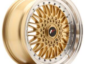 Valuvelg Japan Racing JR9 17×8,5 ET20 4×100/108 Gold Machined Lip JR9