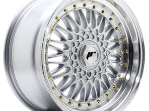 Valuvelg Japan Racing JR9 17×8,5 ET20 4×100/108 Silver Machined Lip JR9