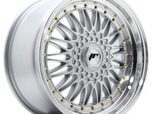 Valuvelg Japan Racing JR9 18×9 ET40 5×112/114 Silver Machined Lip JR9