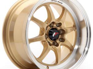 Valuvelg Japan Racing TF2 15×7,5 ET30 4×100/114 Gold TFII