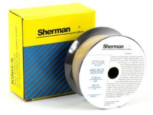 Täidistraat Sherman gaasivaba  0,8 mm / 0,45 kg Keevitusmaterjalid